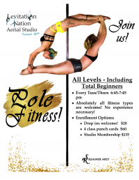 Pole Fitness for Beginners!