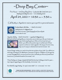 Deep Bay Center  Day of Energy Healing