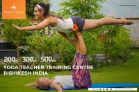 200 Hour Yoga Teacher Training in Rishikesh Yogpeeth,