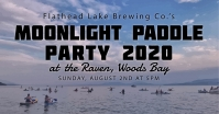 FLBC's Moonlight Paddle Party at The Raven