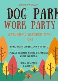 Dog Park Work Party