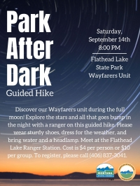 Park After Dark Guided Hike