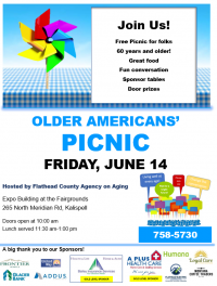 Older Americans' Picnic