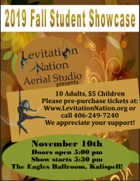 Levitation Nation's Aerial Dance Showcase
