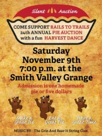 Pie auction and harvest dance