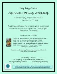 Spiritual Healing Workshop