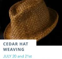 Cedar Hat Weaving