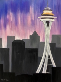 Seattle, Tipsy Brush Painting Party, Kalispell