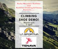 Rockfish Climbing & Fitness Shoe Demo