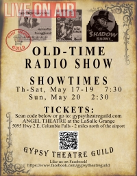 Old-Time Radio Show - Live -- On Stage!!