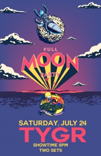 TYGR Full Moon Party At The Raven