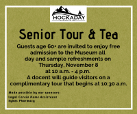 Senior Tour & Tea