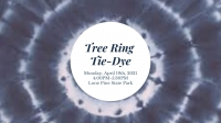 Tree Ring Tie Dye