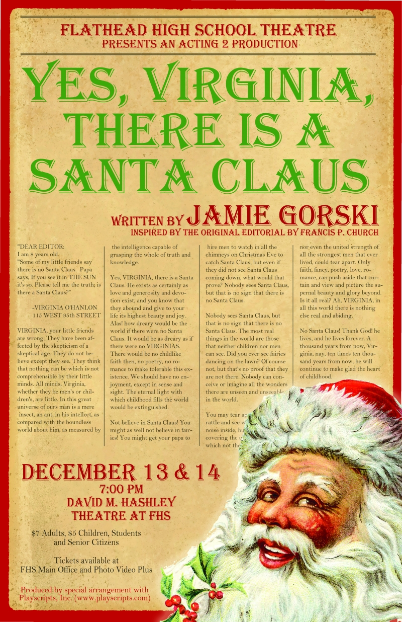 yes virginia there is a santa claus letter yes virginia there is a santa claus 12 13 2013 25860 | VirginiaPosternews lg