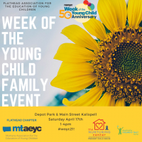 Week of the Young Child Art Walk Family Event