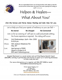 What About You? A group for Helpers & Healers