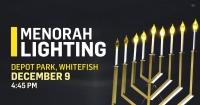 Public Menorah Lighting