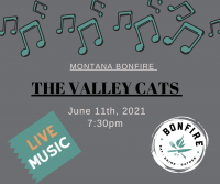 Live Music at Montana Bonfire- The Valley Cats