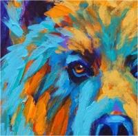 Canvas & Cookies: Bear Portrait