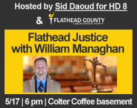 Flathead Justice with William Managhan