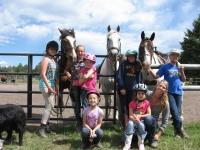 Youth Horsemanship Camp 7yrs