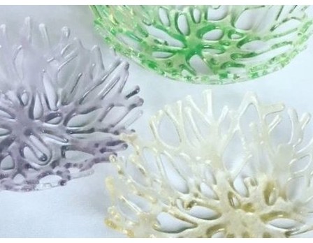 Fused Glass Class: Coral Bowls