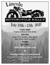 Lincoln Bike Rally and Hell's Belles concert