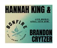 Live Music with Hannah King at Montana Bonfire