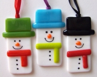 Glass Fusing Class: Holiday Ornaments