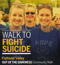 2018 Flathead Valley Out of the Darkness Walk