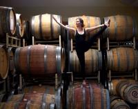 Yoga & Wine at Waters Edge Winery & Bistro!