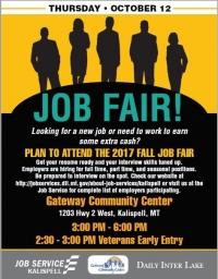 Flathead Valley Job Fair