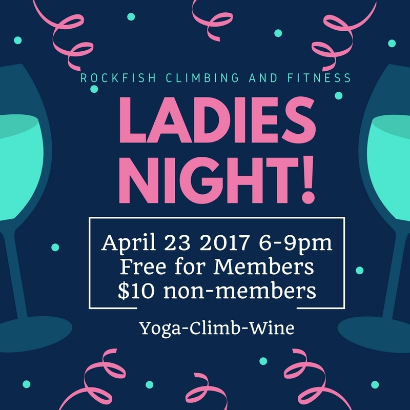 Ladies Night at RockFish Climbing and Fitness