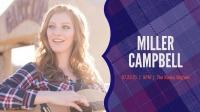 Live Music- Miller Campbell