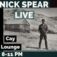 Nick Spear LIVE @ Marina Cay Resort