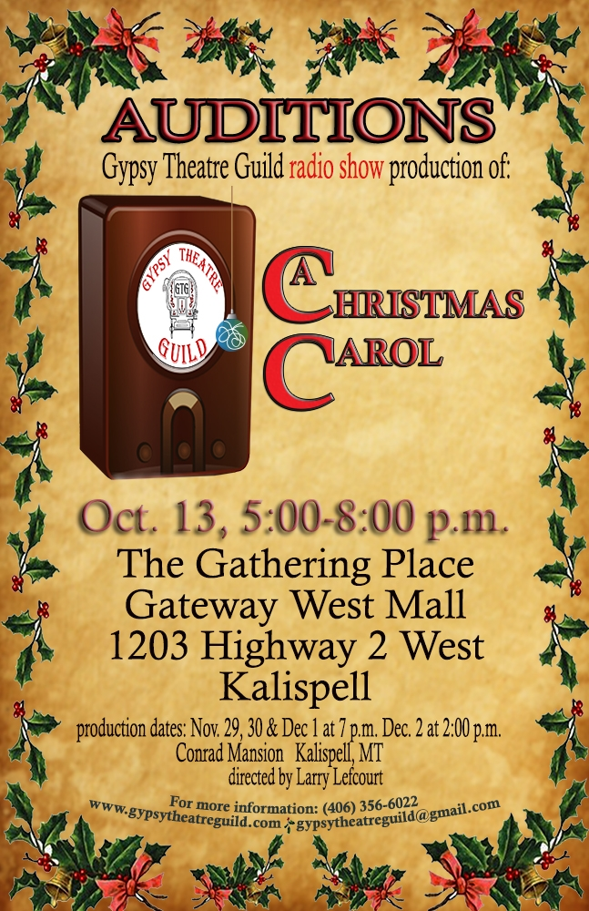 auditions art theatre auditions a christmas carol old time radio show - Old Time Radio Christmas