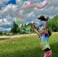 Giant Bubbles and Bubble Wands
