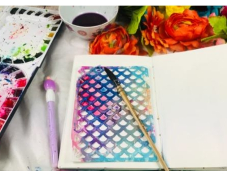 Watercolor Class @ Sunti Gallery