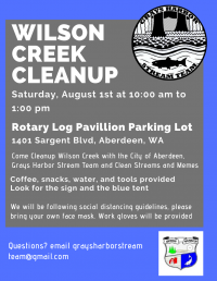 Wilson Creek Cleanup