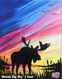 Moose Big Sky Square