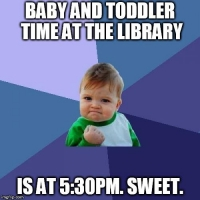 Baby and Toddler Time