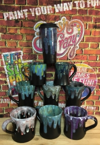 Mugs in Matte Black Galce