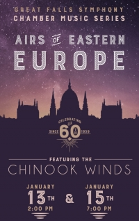 Airs of Eastern Europe featuring the Chinook Winds