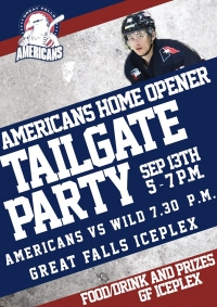 2019 Great Falls Americans Season Opening Tailgate Party
