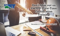 SWPPP Preparer & Administrator (First-Time) Certification Course