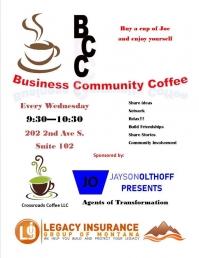 Business Community Coffee