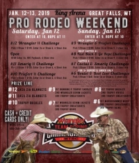 Great Falls, MT Pro Rodeo Weekend