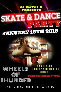 Skate & Dance Party