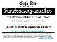 Cafe Rio Fundraiser