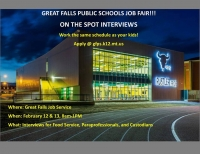 Great Falls Public Schools Job Fair
